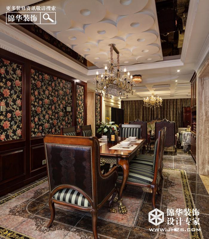 PRADA女王的城堡-保利紫晶山装修-三室两厅-新古典