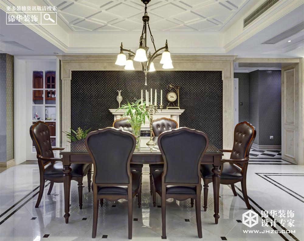 曼哈顿印象-保利紫晶山装修-三室两厅-新古典