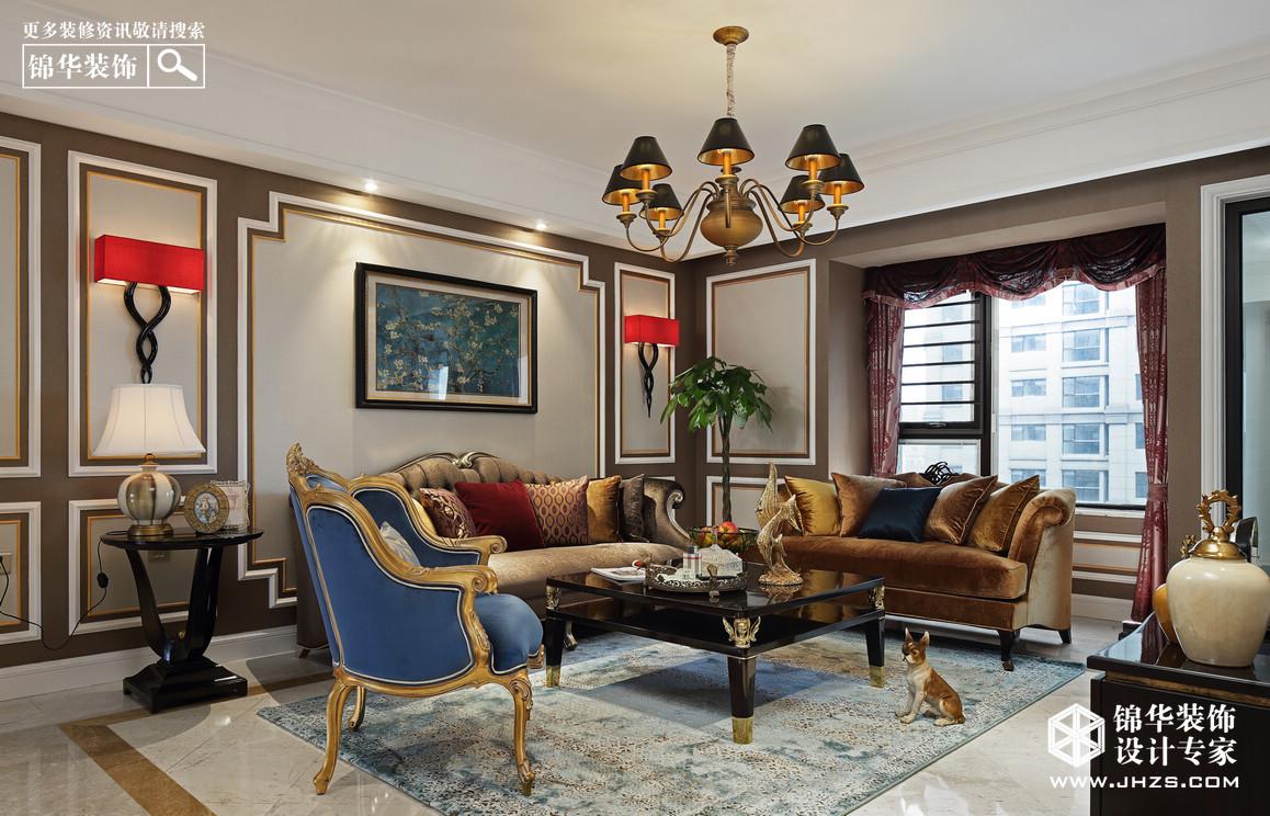 汇锦国际装修-三室两厅-简欧