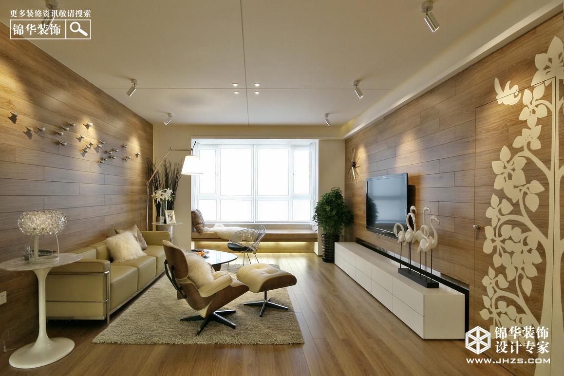 彩虹·天地新城装修-三室一厅-现代简约
