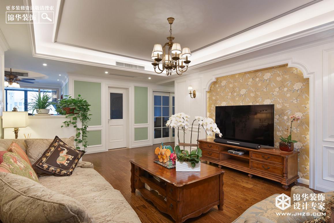 凤凰和熙装修-三室两厅-美式田园