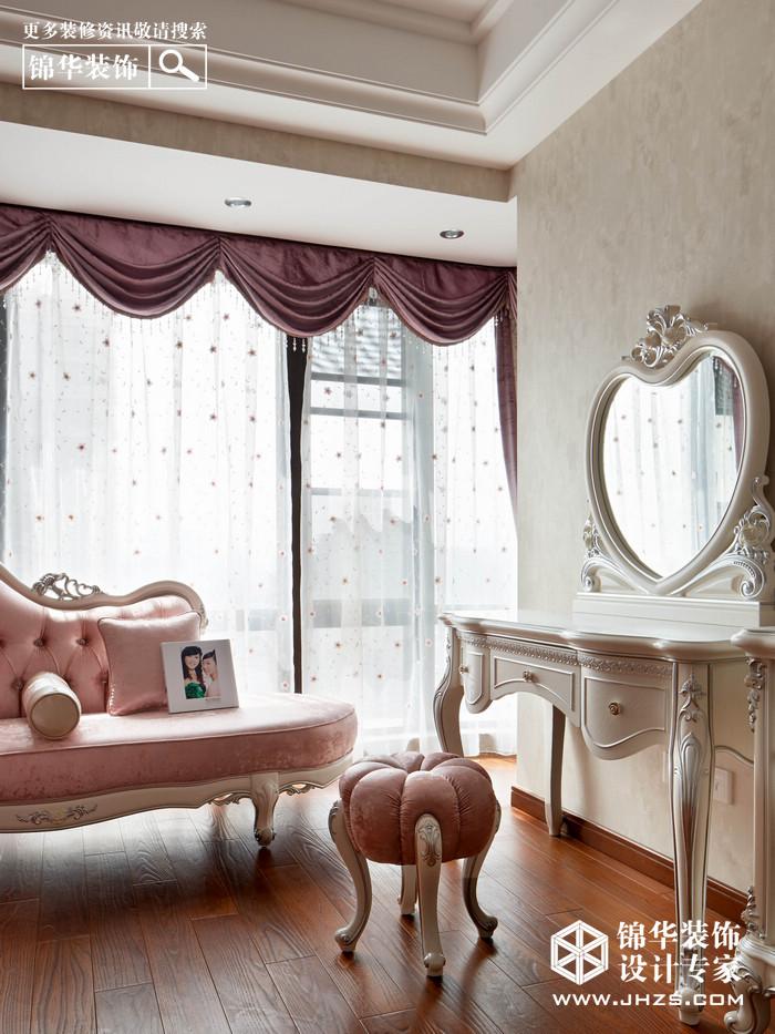苏宁睿城装修-三室两厅-简欧