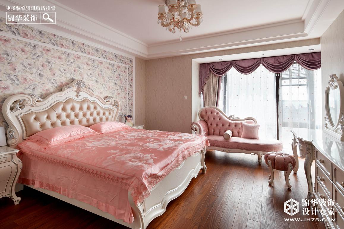 欧式朱卧室装修图片