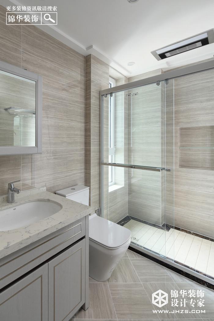 现代简约-滨江一号-三室两厅-142平米装修-三室两厅-现代简约