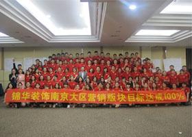 锦华装饰南京大区营销版块目标管理目标达成100%战前特训