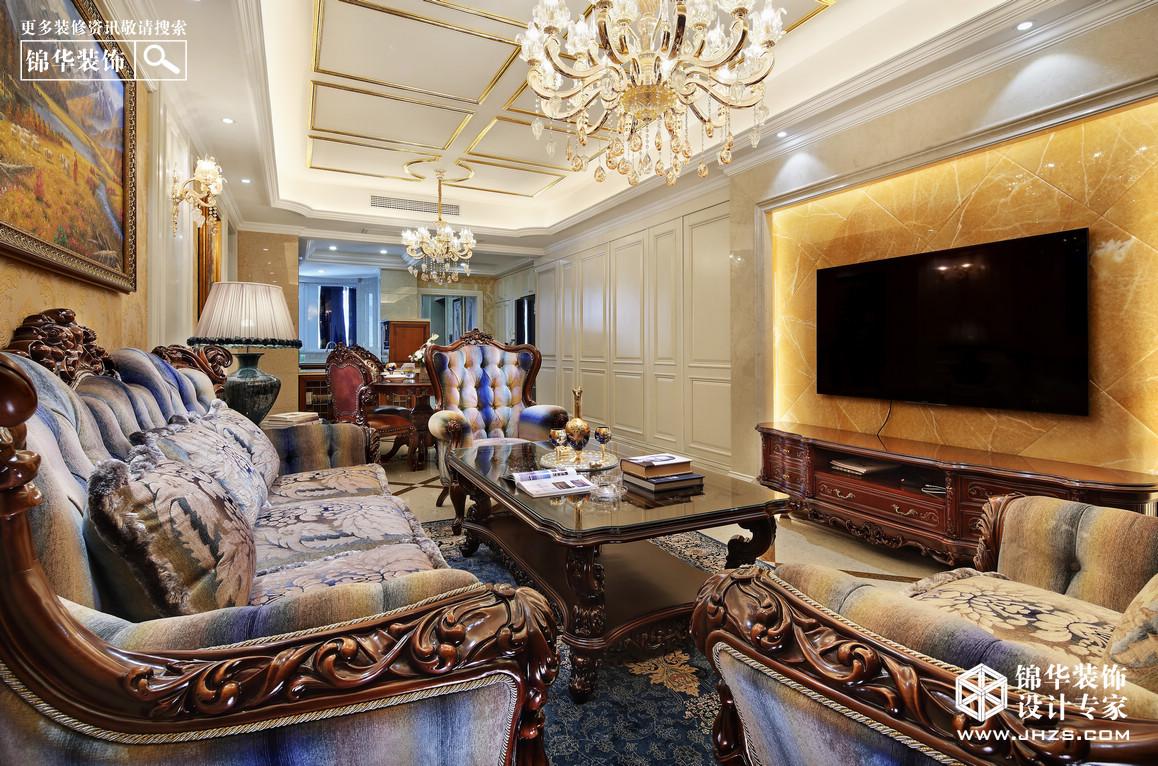 滨江一号1装修-三室一厅-欧式古典