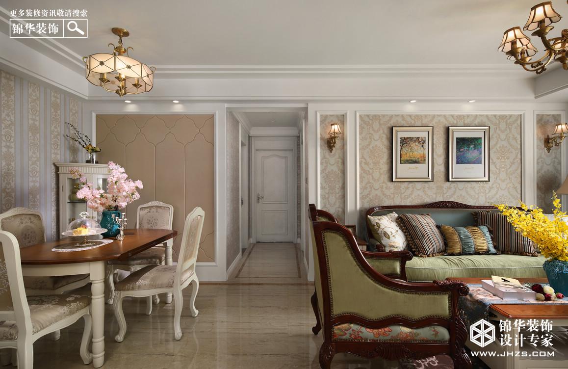 珍珠雅苑装修-两室两厅-美式田园图片