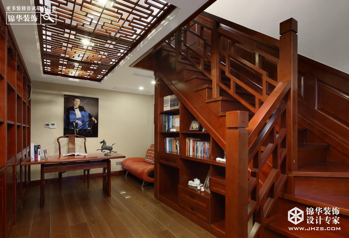 五矿-九玺台装修-三室两厅-新中式-南京锦华装饰设计