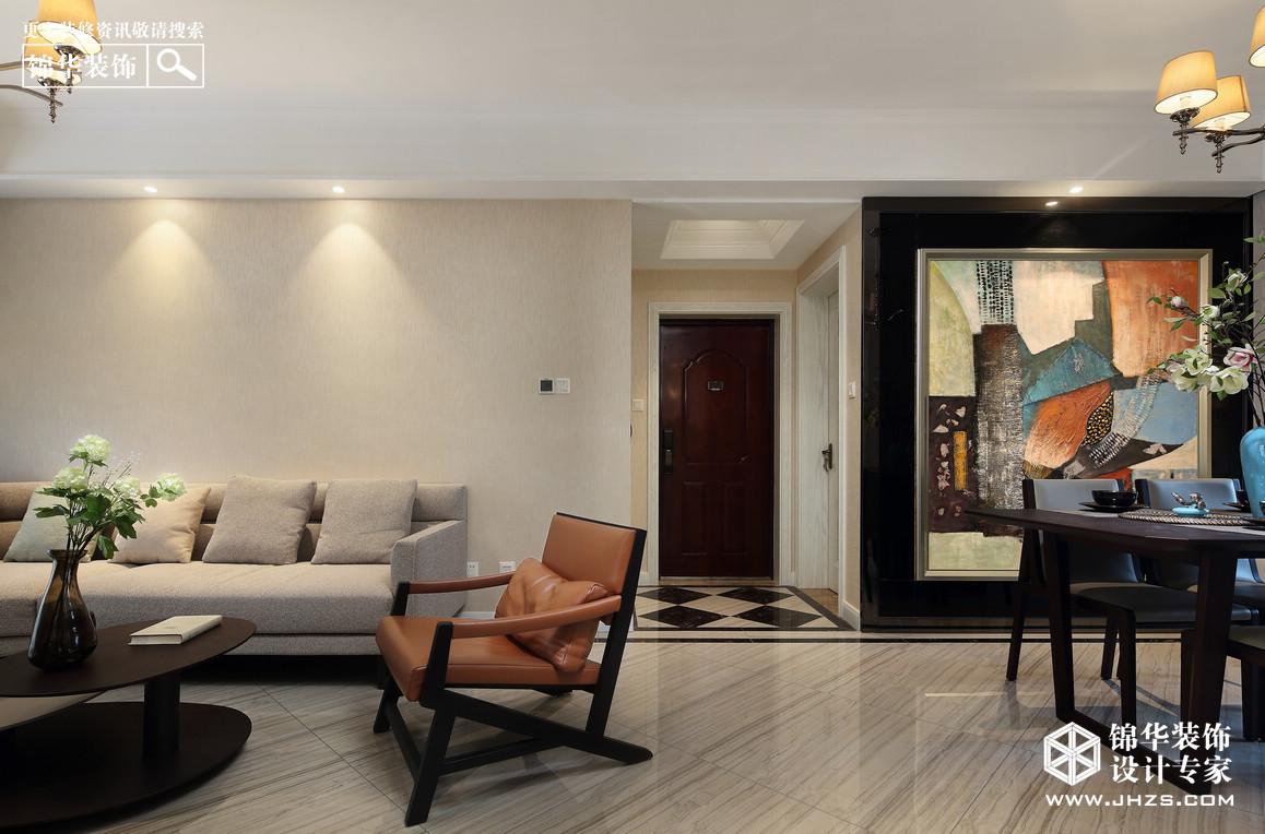 净.静-宋都南郡装修-两室两厅-现代简约