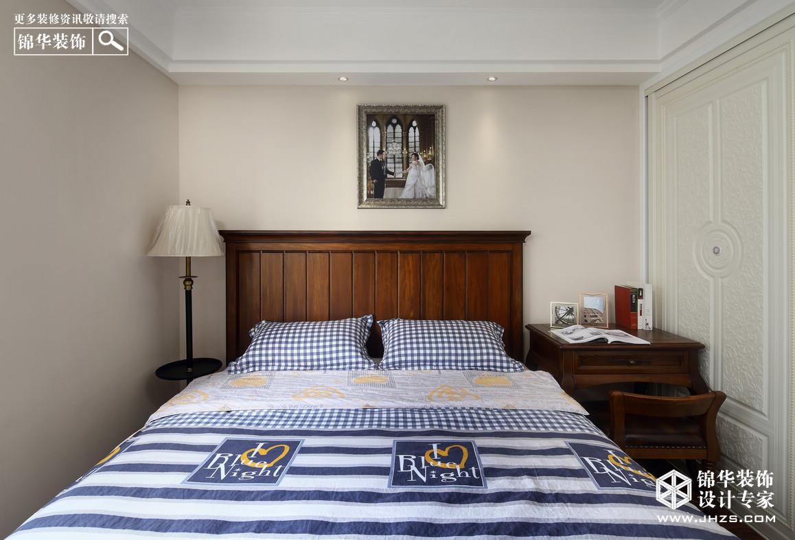 融侨中央花园枫树街区装修-三室两厅-美式田园