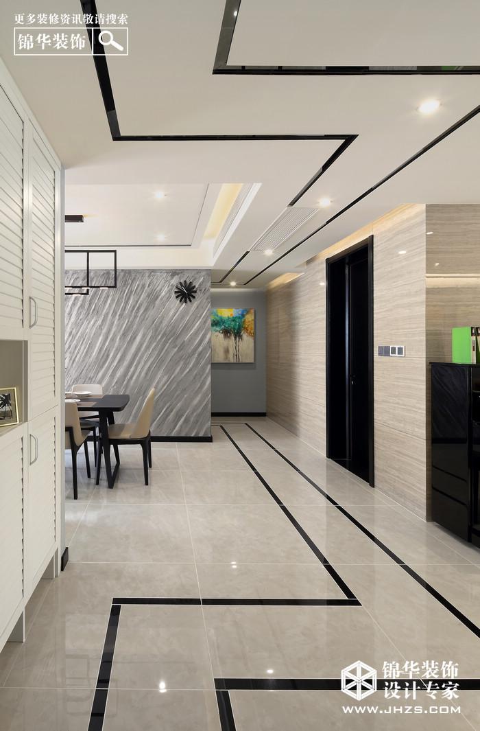 现代简约-奥体新城木樨园-三室两厅-140平米装修-三室两厅-现代简约