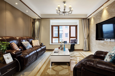 简欧-林景雅园-三室两厅-127平米