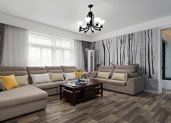 現代簡約-珠泉花園-三室兩廳-119平米