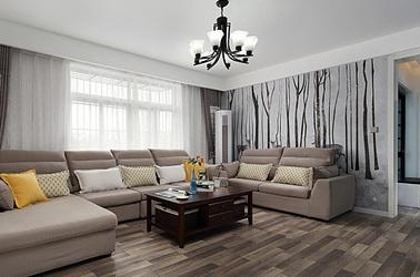 现代简约-珠泉花园-三室两厅-119平米