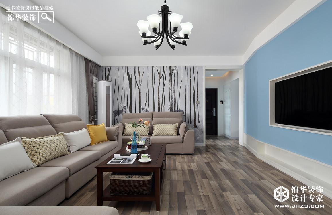 珠泉花园装修-三室两厅-现代简约