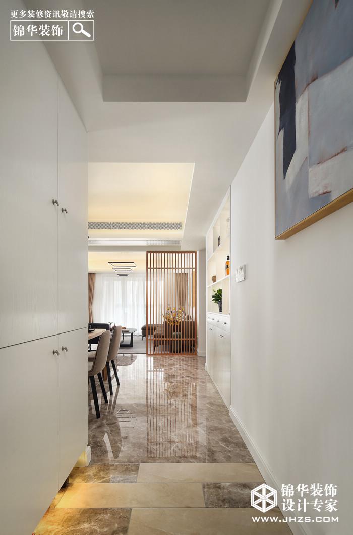 素年锦时-善水湾花园装修-四室两厅-新中式