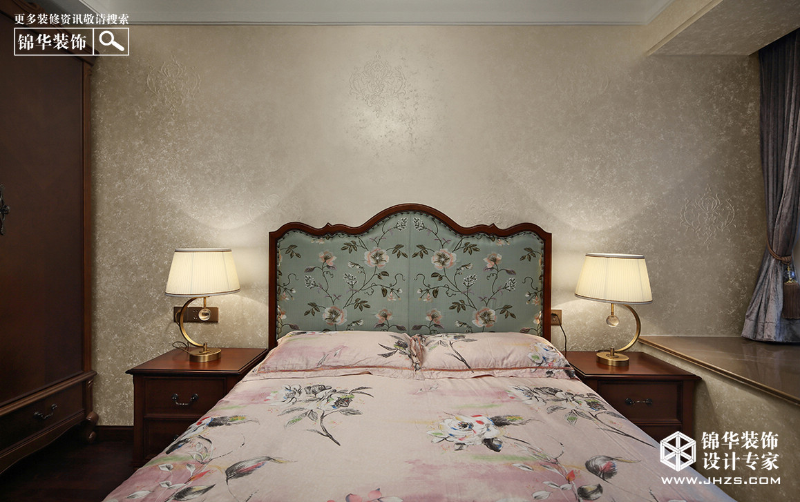 雅致-雅居乐滨江国际装修-四室两厅-简欧