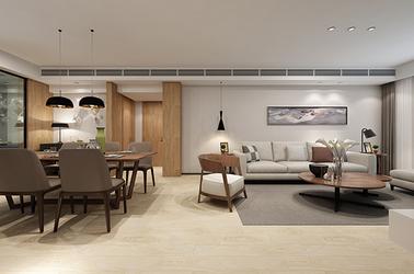 現代簡約-香江豪庭-三室一廳-118平米