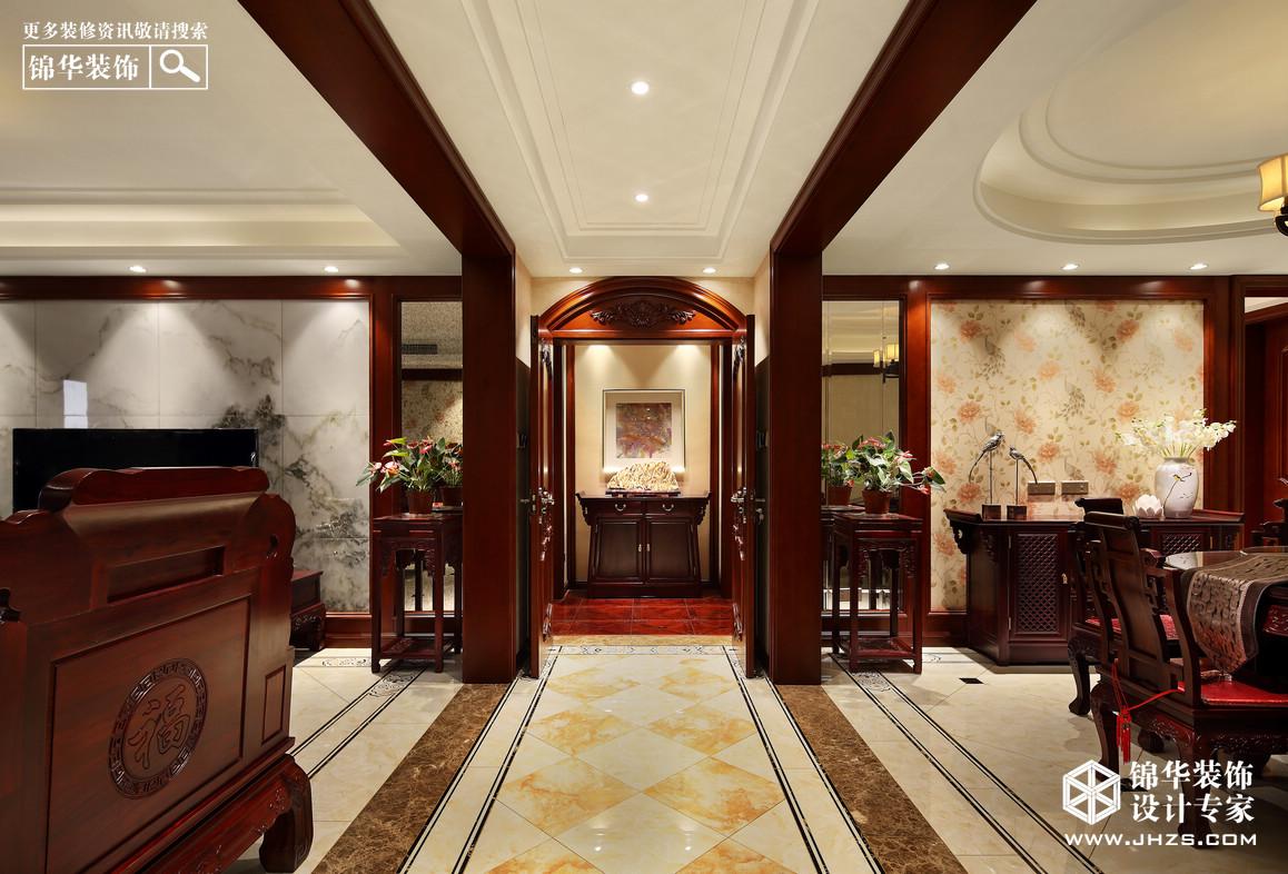 高科荣境装修-四室两厅-新中式