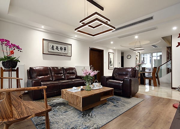 新中式-景枫法兰谷-大户型-166平米