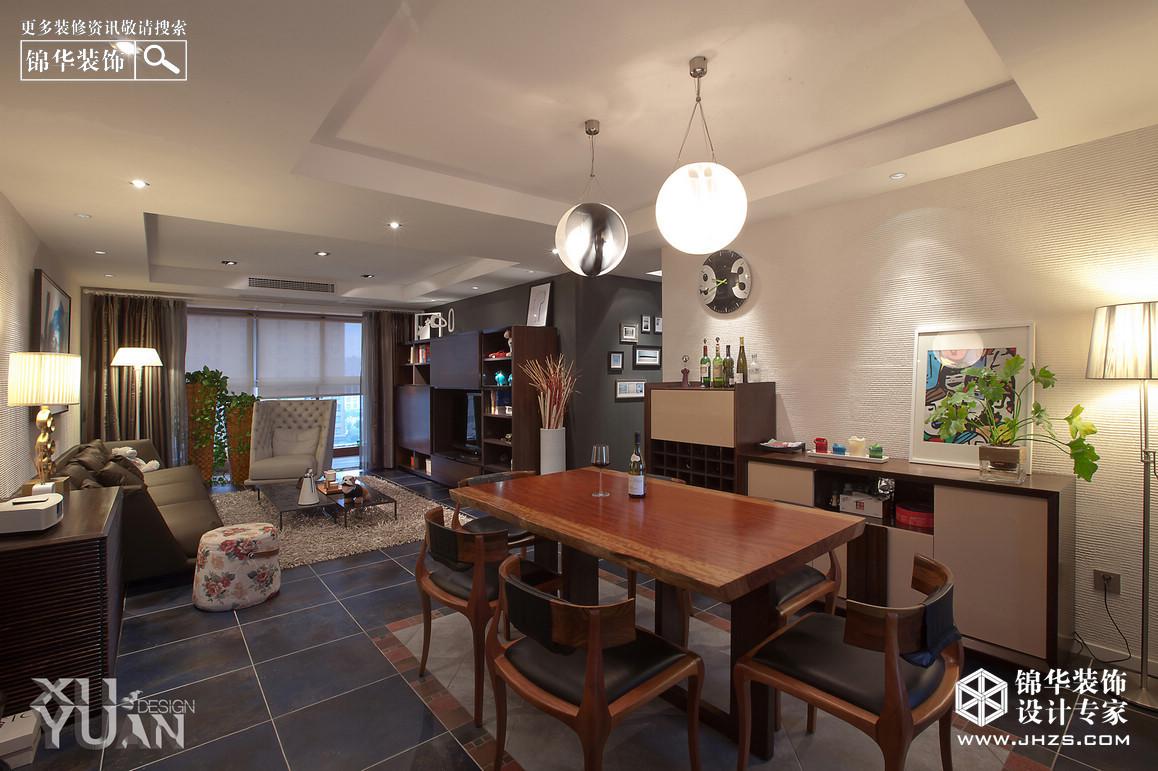 午后咖啡館-蘋果公寓裝修-兩室一廳-現代簡約