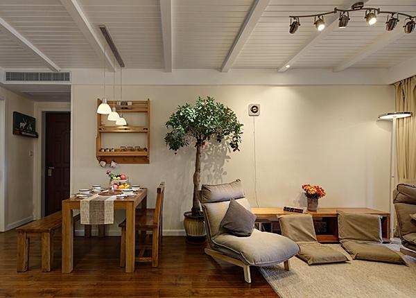 日式-保利羅蘭春天-兩室一廳-88平米