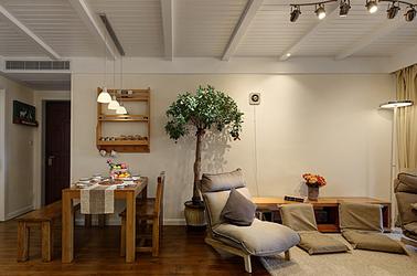 日式-保利罗兰春天-两室一厅-88平米