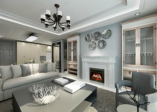 现代简约-融侨观邸-四室两厅-168平米