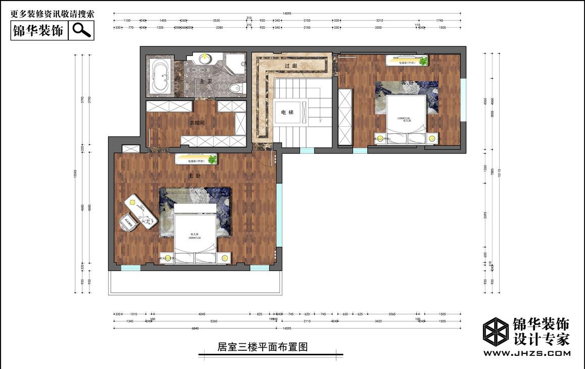 九龙湖装修-别墅-新古典