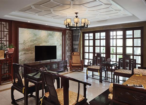 新中式-熙龙山院-别墅-230平米
