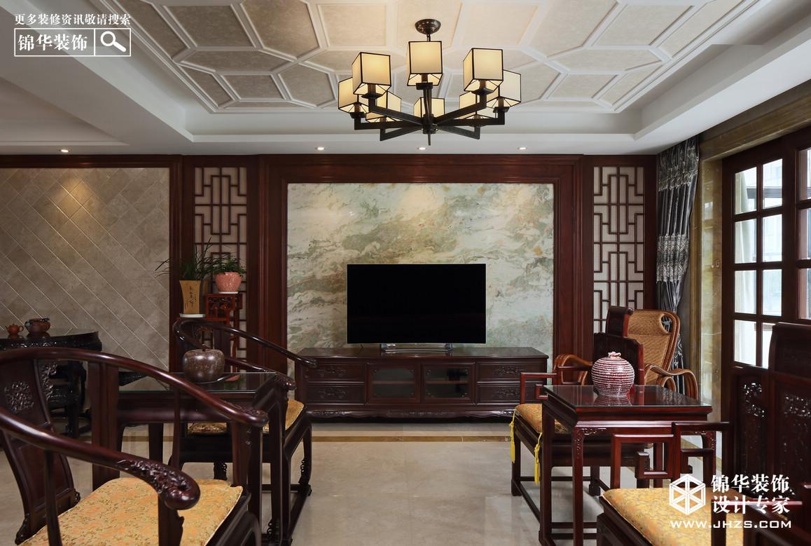 熙龙山院装修-别墅-新中式