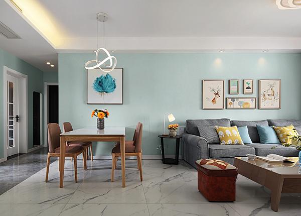 現代簡約-宋都南郡-三室兩廳-98平米
