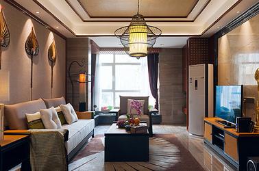东南亚-御景湾-三室两厅-98平米