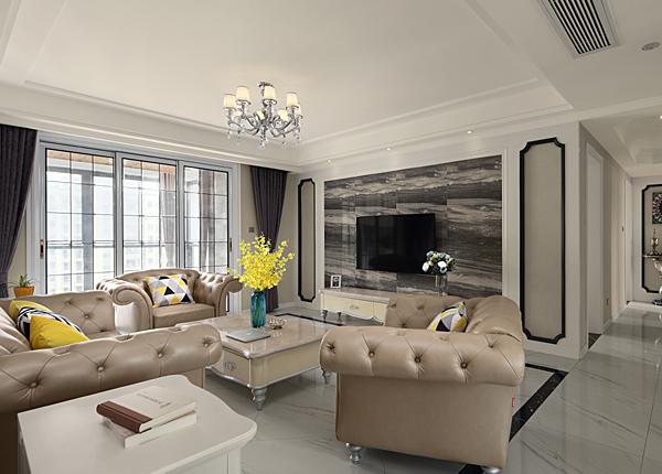 现代简约-华城名府-四室两厅-132平米