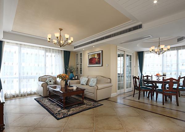 星雨華府-125平米三室兩廳-簡美