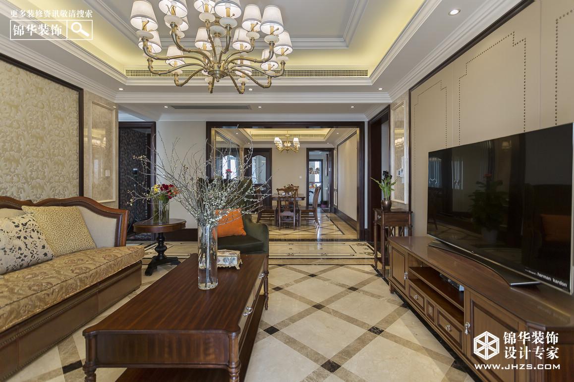 中海凤凰熙岸装修-四室两厅-新古典