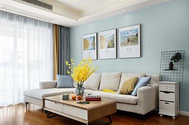 现代简约-中海国际社区-两室两厅-89平米