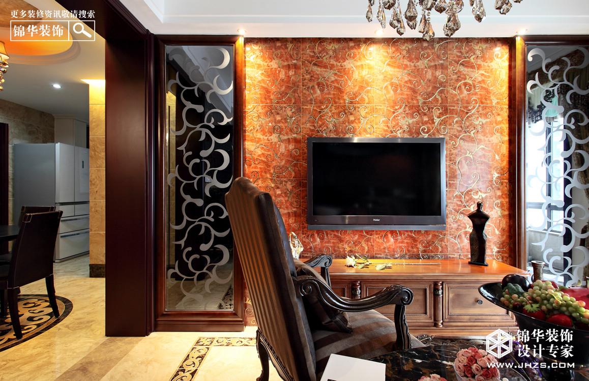 万达东坊装修-三室两厅-欧式古典
