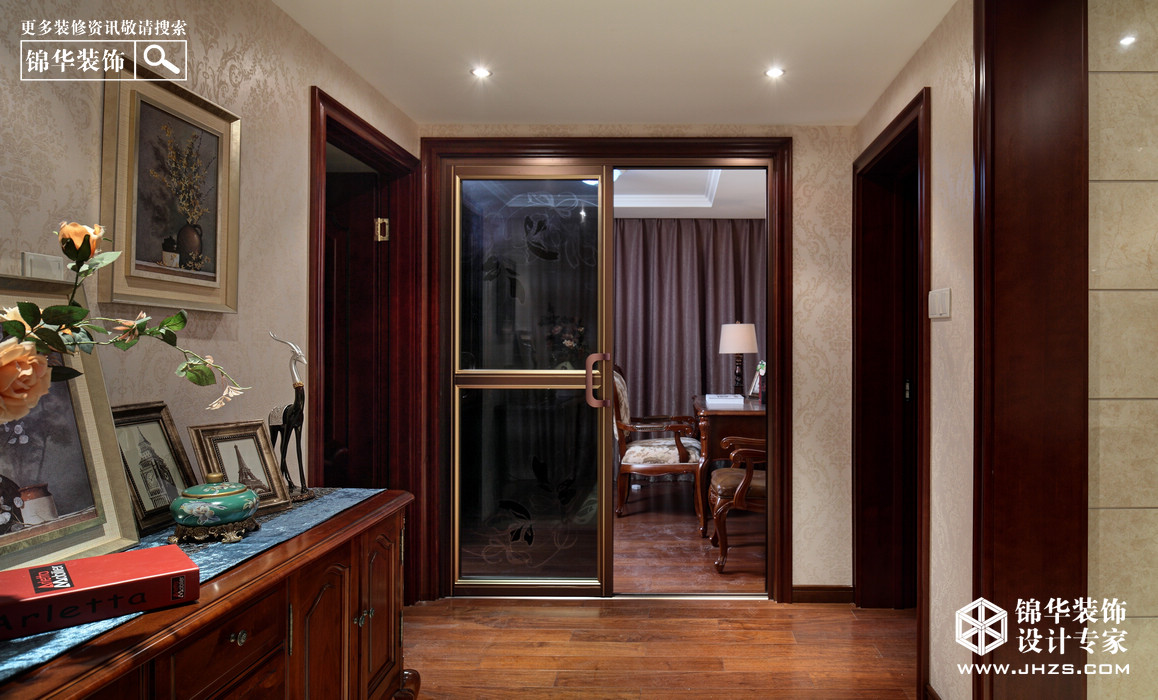 研磨时光-中泰国际装修-四室两厅-简美