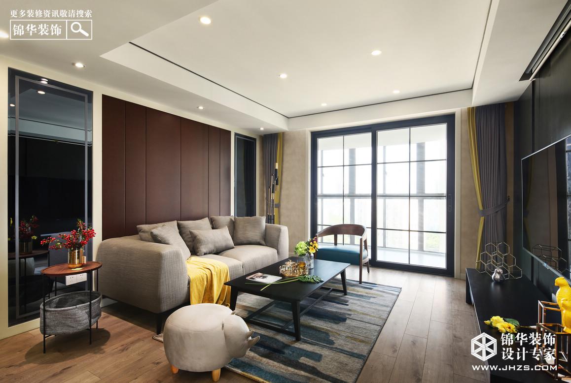 匀循-武夷绿洲装修-三室两厅-现代简约