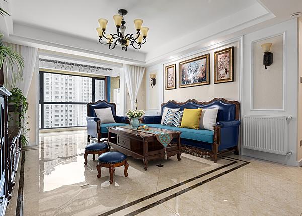 简美-雍福龙庭-三室两厅-134平米