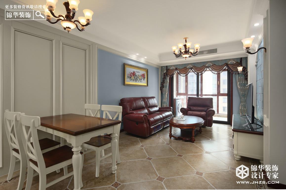 中铁青秀城装修-四室两厅-欧式古典