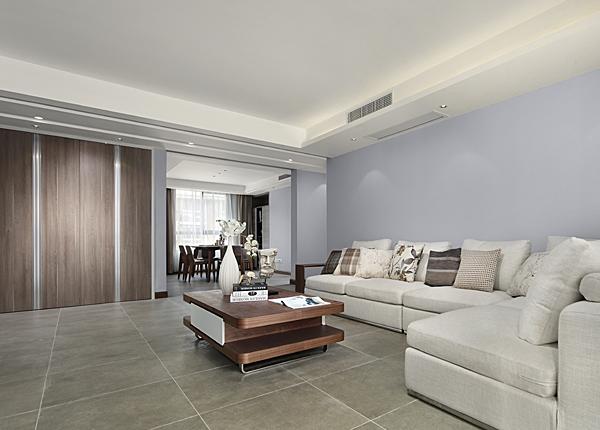 現代簡約-虎嘯花園-四室兩廳-150平米