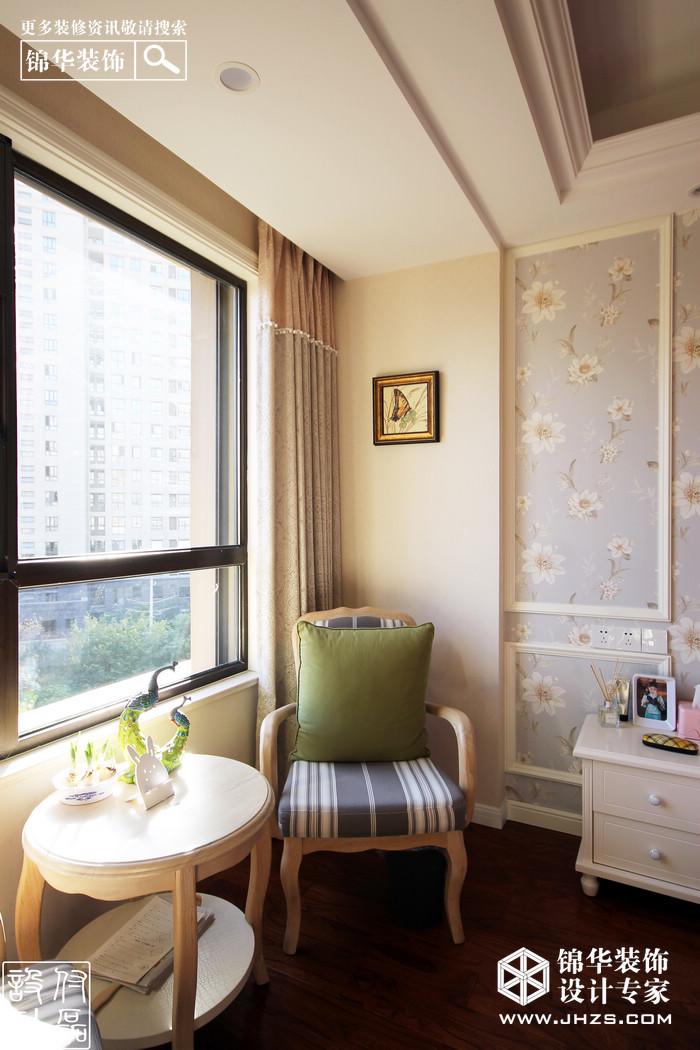 简欧-大华香鸢美颂-三室两厅-135平米装修-三室两厅-简欧