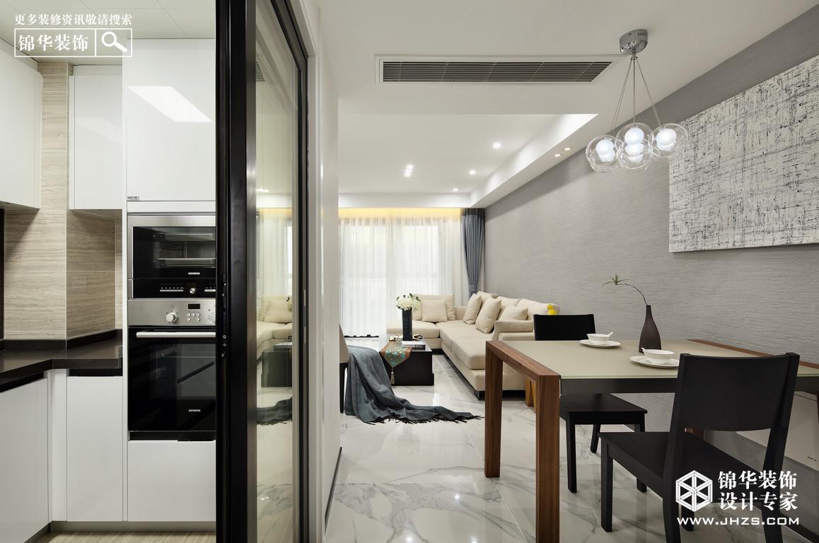 简·减-弘阳上院装修-两室一厅-现代简约