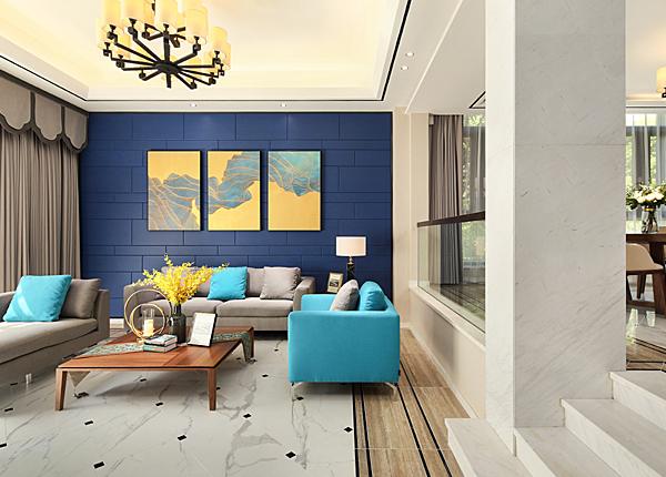 现代简约-颐和南园-别墅-300平米