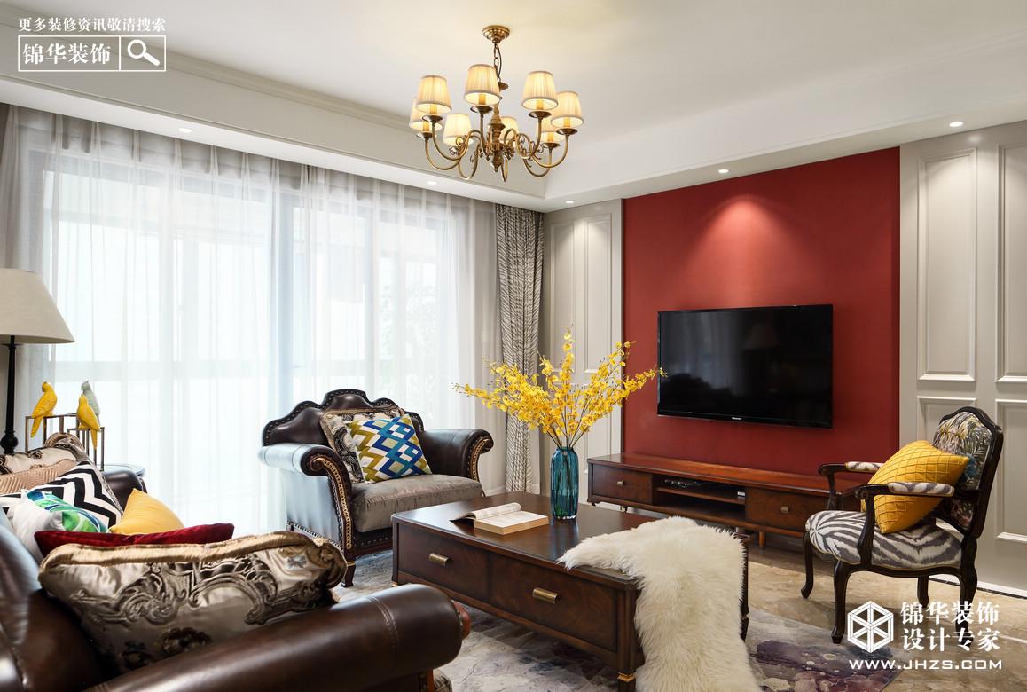 润江城装修-四室两厅-简约美式
