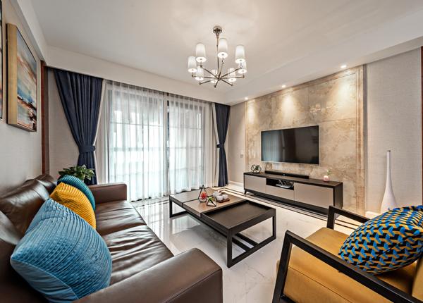 现代简约-万达茂-三室两厅-132平米