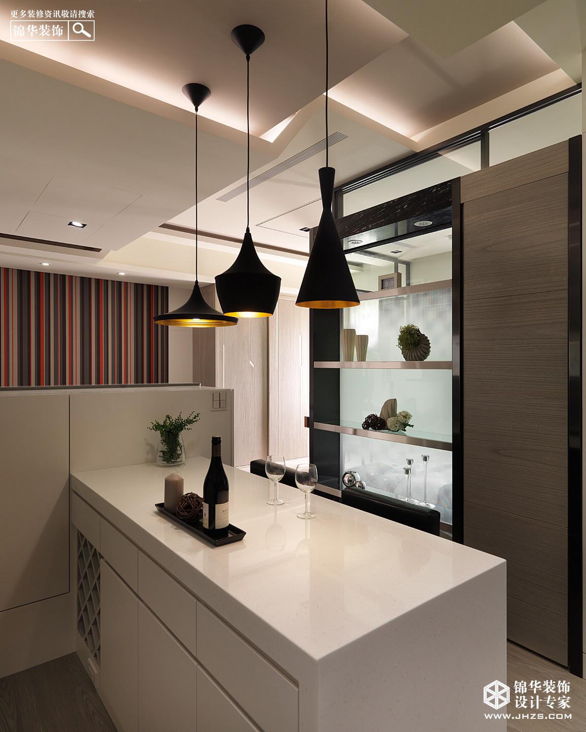 现代简约-招商依云尚城-两室一厅-86平米装修-两室一厅-现代简约