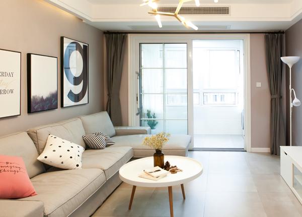 現代簡約-怡景家園-兩室一廳-85平米